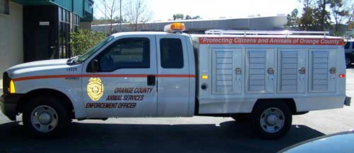 Reflective Vinyl Graphics: Truck Graphics with Reflective Vinyl Decal.