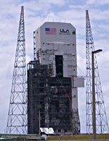 Exterior Wall Mural on ULA Launch Pad