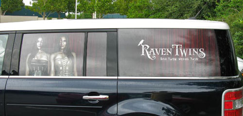 Window Graphics Vehicle Wraps Signs And Banners In Orlando