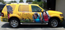 Vehicle Wraps: Chevy Tahoe Vehicle Wrap for Busch Gardens Tampa Bay.
