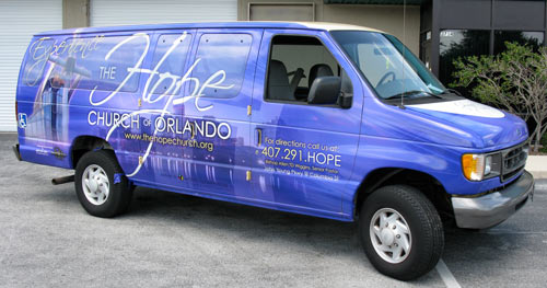 Slide Show Vehicle Wraps Vans Shadow Graphics