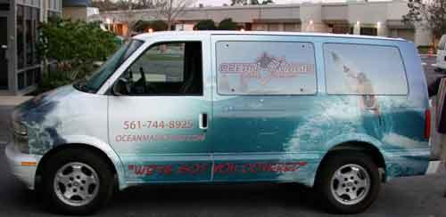 Slide Show Vehicle Wraps Vans Shadow Graphics